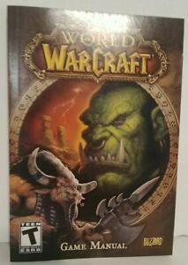 🔥World of Warcraft game manual (BOOK ONLY)!
