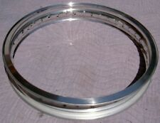 WM3 2.15 X 18 -40 hole Akront Italian style flanged alloy vintage motorcycle rim
