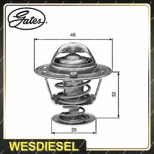 Gates Coolant Thermostat + Gaskets & Seals for Toyota Paseo EL54 5E-FE 1.5L 66kW