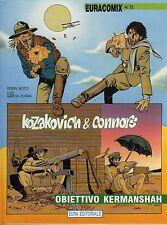 fumetto EURACOMIX NUMERO 72 KOZAKOVICH & CONNORS
