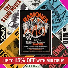 #2 RARE VINTAGE BAND ROCK POP Posters Concert Tour Music Quality Prints A4 A3 A2