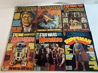 Famous Monsters of Filmland 6 ISSUE LOT #134,138,135,139,137,152 STAR WARS