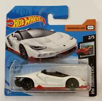 2020 Hotwheels '16 Lamborghini  Centenario Roadster HW Roadsters! Mint! MOC!