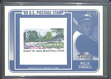 2018 Topps Heritage Postage Stamp #69PSR-WS Willie Stargell No 28 of 50