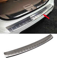 For Nissan X-Trail Rogue Stainless Steel Rear Bumper Protector Plate Cover 14-15