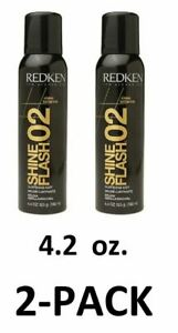 Redken #02 Shine Flash Glistening Mist 4.4 oz. *2-PACK* New! Fast Free Shipping!
