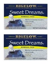 Bigelow Sweet Dreams Herbal Tea Bags 2 Box Pack