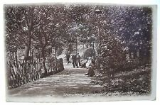 LOVERS' WALK UNDERCLIFF SOUTHEND-ON-SEA ANTIQUE REAL PHOTO POSTCARD 1920s ESSEX*