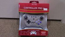 3 in 1 Triple Nintendo Wii / Wii U Pro U Controller Gray - New Sealed Wireless