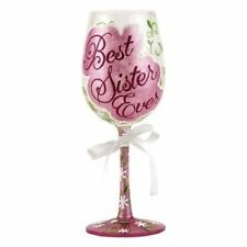 New Enesco Wine Glass, Best Sister Ever