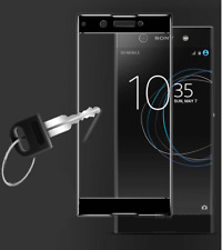 FULL SCREEN CURVED EDGE TEMPERED GLASS SCREEN PROTECTOR For Sony Xperia Xz1