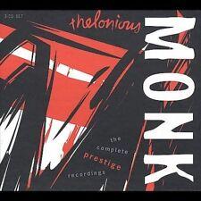 Complete Prestige Recordings by Thelonious Monk (CD, Jul-2000, 3 Discs, Prestige)