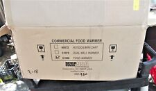 Winco Benchmark 51096 Concession Food Warmer + Wells/Lids - Local Pick Up Only