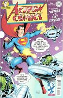 Action Comics #1000 1950s Variant SIGNED by Dave Gibbons Watchmen!!!