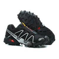 Men's Salomon Speedcross 4 Athletic Sports Outdoor Hiking Running Sneaker Shoes