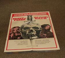 "FEAST OF FLESH / BLOOD BATH - RARE 1970'S MOVIE POSTER 27""x41"" - SCRAY HORROR -V"