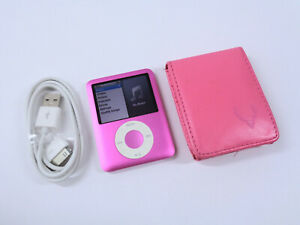 Apple iPod Nano 8GB 3rd Gen Generation Pink MP3 WARRANTY VGC