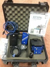 Pacific Crest Rfm96w Blue Brick Radio Modem Case Cables Manual Accessories