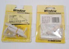 Prime Line F2642 Window Tilt Latch And Corner - White Vinyl Replacement x2 Packs