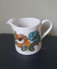 Vintage Myott England Retro 70's Ceramic Milk/Cream Jug