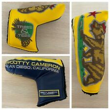 Scotty Cameron Yellow Bear Gallery Release Trees and Tees Putter Headcover