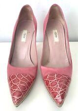 Prada pink heels size 36