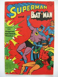 Superman Heft 12, 17.Juni 1967, Ehapa Verlag, Zustand 2-3