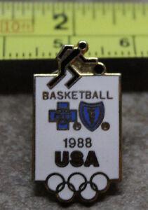 1988 Seoul USA Basketball Summer Olympics Collectible Pin