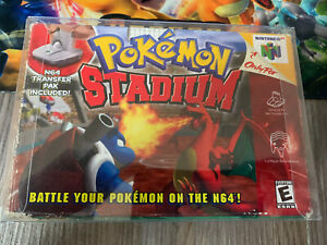 Pokemon Stadium Original Box ONLY Nintendo 64 *NO GAME or MANUAL*