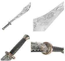 Dragon Plastic Broadsword- Heavy Practice Training Martial Arts Sword Weapon