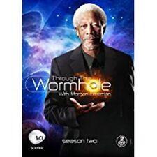 Through the Wormhole w/ Morgan Freeman Season Two DVD 2-Disc Set NEW sealed