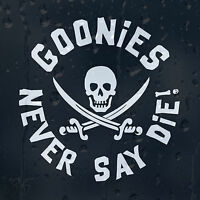 Goonies Car Decal Vinyl Sticker For Bumper Or Window Or Panel