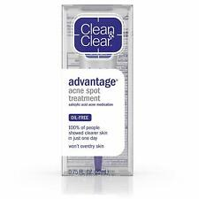 Clean & Clear Advanced Advantage Acne Spot 2% Salicylic Acid Treatment 22g 22mL