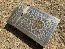 More details for antique card case ciggarette case basque region rare item