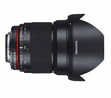 Samyang 16mm f2 ED AS UMC CS Lens - Fuji X Mount Fit