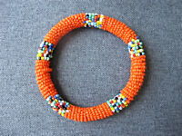 Vintage nice colors african maasai beaded bracelet bangle '
