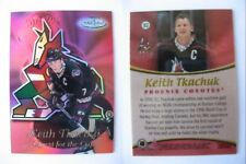1999-00 Topps Gold Label QC2 Keith Tkachuk 1/1 quest for UD The CUP black 1 of 1
