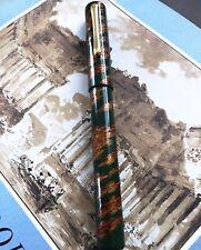 Taccia Urushi Fountain Pen Broad Nib Sailor Yakumo Nuri Green