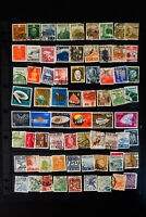 China Unsearched Stamp Collection Some Various Asia