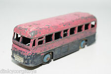 DINKY TOYS 283  BOAC B.O.A.C. BUS COACH PINK BLUE EXCELLENT CONDITION REPAINT