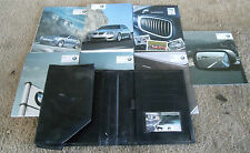 BMW M5 Complete Owners Manual With Black Case