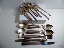 Silver Plate Flatware Vintage Pattern