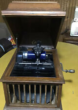 Edison Amberola Cylinder Phonograph.