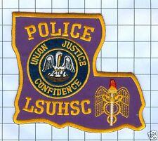 Police Patch  - Louisiana - Louisiana State University