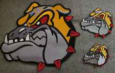 3 Pieces Bull Dog Martial Arts Patches - New
