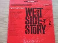 WEST SIDE STORY  SOUNDTRACK ALBUM  VINYL RECORD 33 RPM LP