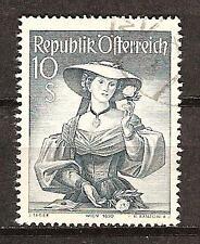 AUSTRIA # 556 Used COSTUME OF VIENNA 1850  (2)