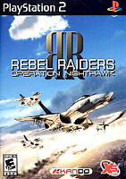 Rebel Raiders Operation Nighthawk ps2 PlayStation 2 game only 29H kids