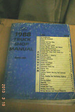 Ford 1988 TRUCK AEROSTAR  BOBY CHASSIS ELECTICAL MANUAL SHOP BOOK