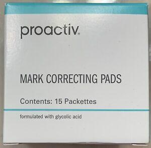 New PROACTIV MARK CORRECTING PADS 15 Packets Acne Dark Spot Fading Corrector